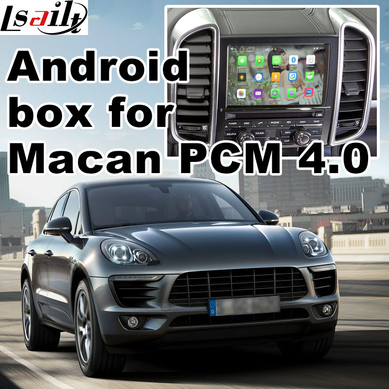 Android 6 0 GPS navigation box for Porsche Macan PCM 4 0 video interface box mirror