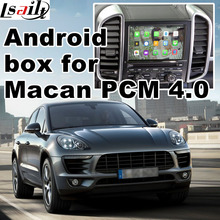 Android 6.0 cuadro de navegación GPS para Porsche Macan PCM 4.0 caja de interfaz de vídeo espejo enlace waze yandex igo navi trasero vista
