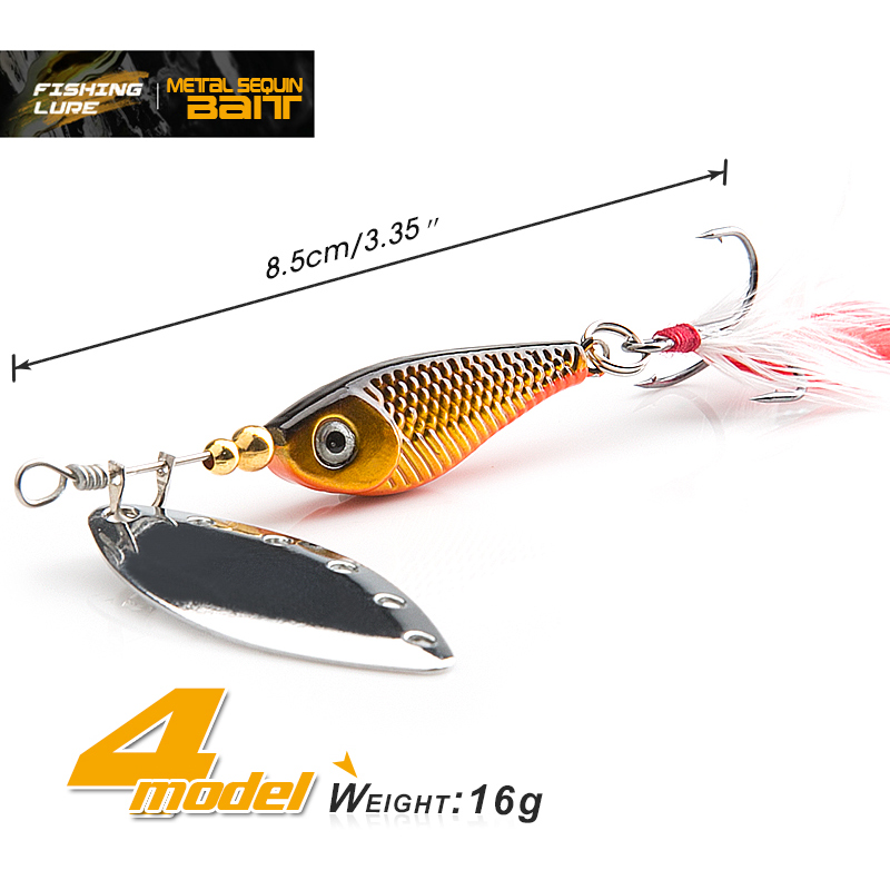 spinner Spoon Metal Bait Fishin Lure Sequins Crankbait Spoon baits for Bass Trout Perch pike rotating Fishing (1)