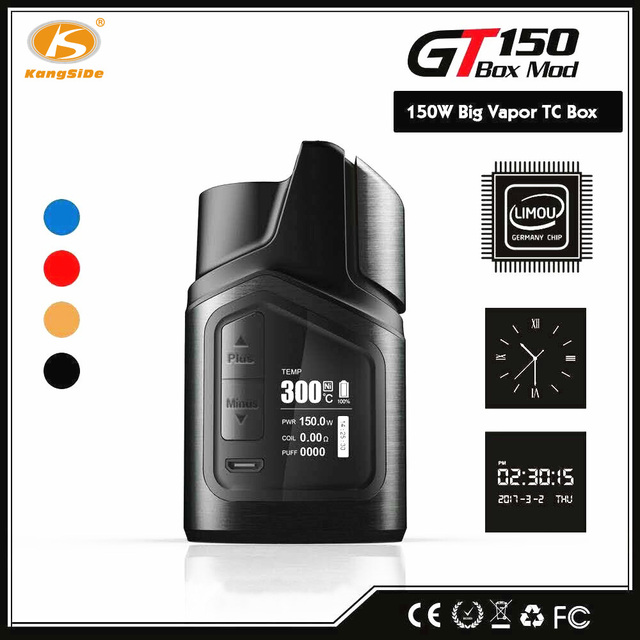 Connu D'origine Cigarette Électronique KS GT150 TC Kit 150 W  JI67