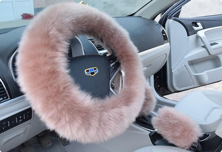 long-Wool-Plush-Steering-Wheel-Cover-Woolen-Winter-Car-Accessory-camel