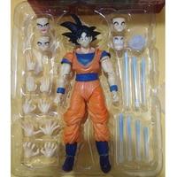 SHF figuarts Dragon Ball Z Goku SHFiguarts Zoon Gokou PVC Action Figure Collection Toy 6.5
