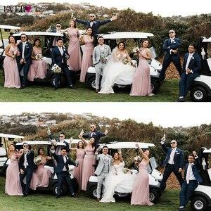 Image 4 - Blush różowe suknie dla druhen Ever Pretty EP07303 Sweetheart line dekolt bez rękawów wesele sukienka elegancka dla kobiet