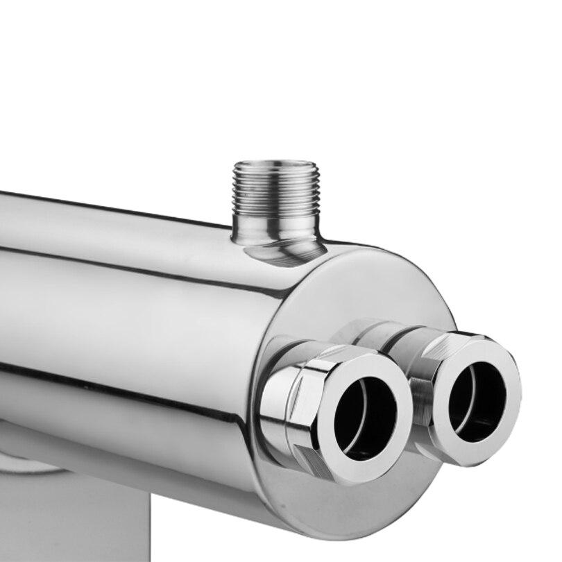 Image 2 - SS304 24 gpm 紫外線水殺菌 110 ワット商業 uv 消毒システム SSV 5925 2Puv disinfection systemuv sterilizer disinfectionuv sterilizer -
