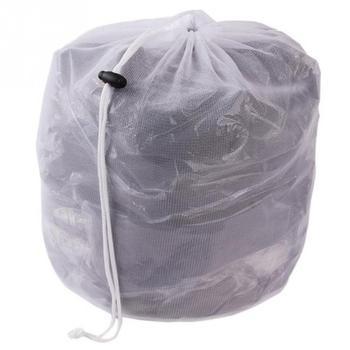 Laundry Mesh Bags Drawstring Net Laundry Saver Mesh Washing Pouch Strong Washing Machine Thicken Net Bag Laundry Bra Aid Pack