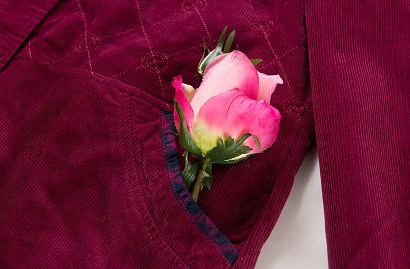 Red Vieux And Coton Capuchon Femmes Grandes Tailles Chaude Black deep 2019 Printemps Côtelé De Lâche Rose Plus Nouvelle Poussière Red orange L En Manteau À Velours Mode 4xl Veste HCwxqW0f
