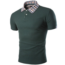 2017 New Brand Clothing Mens Polo Shirt Tenis Fashion High Quality Short Sleeve Solid Polo Shirt Tommys Camisa Polo Masculina
