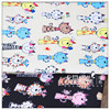 210D Oxford Cloth Cartoon Printing Waterproof PVC Fabric For DIY Apron Tent Bags And Handmade Waterproof