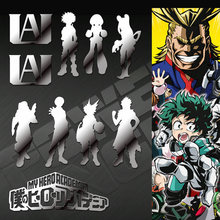 10pcs/set My Hero Academia Boku no Anime Stickers Luxury Laptop Phone Decorative Decal Stiker Toy Sticker