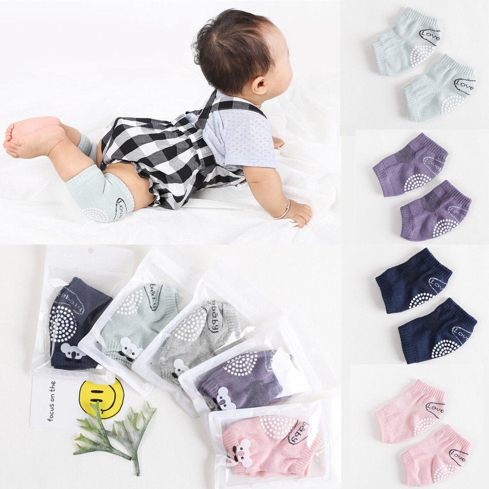 Baby Anti Slip Krabbeln Knie Pad Newborn Kid Sicherheit Atmungsaktive Krabbeln Elbow Weiche Baumwolle Schützen