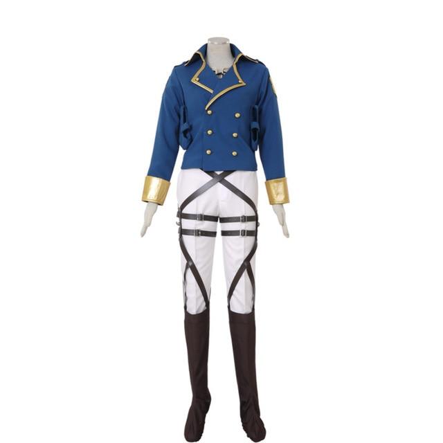 Attack on Titan Shingeki no Kyojin Eren Jaeger Survey Corps Cosplay Costume Custom Made