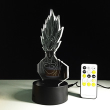 Dragon Ball Goku 3D LED Light