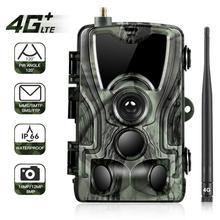 Suntekcam HC-801LTE 4G Hunting Camera 16MP Infrared MMS/SMTP Photo Trap 0.3s Trigger Time 940nm LED Wild PhotoTrap
