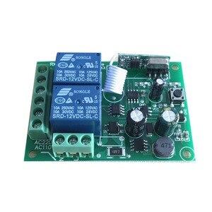 Image 5 - 433 Mhz מתג שלט רחוק אלחוטי אוניברסלי AC 85 V ~ 250 V 110 V 220 V ממסר 2CH מקלט מודול RF 433 Mhz שלט רחוק