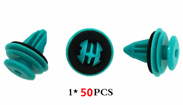 Image 3 - 50pcs Shockproof Solid Car Door Trim Panel Rivets Fastener For Great Wall H6 H3 Voleex Florid Hover H5 C10 Voleex C30 Coolbear-in Auto Fastener & Clip from Automobiles & Motorcycles