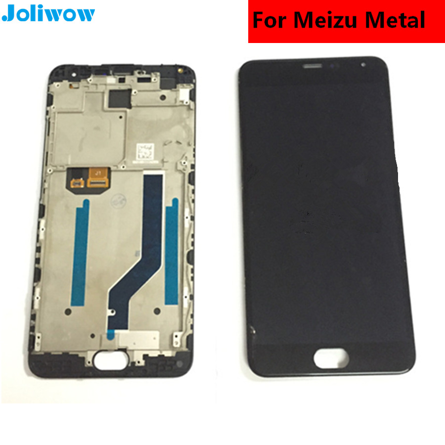 For Meizu Metal M1 Metal LCD Display+Touch Screen+ Screen frame+Tools tested Digitizer Glass Lens Assembly Replacement
