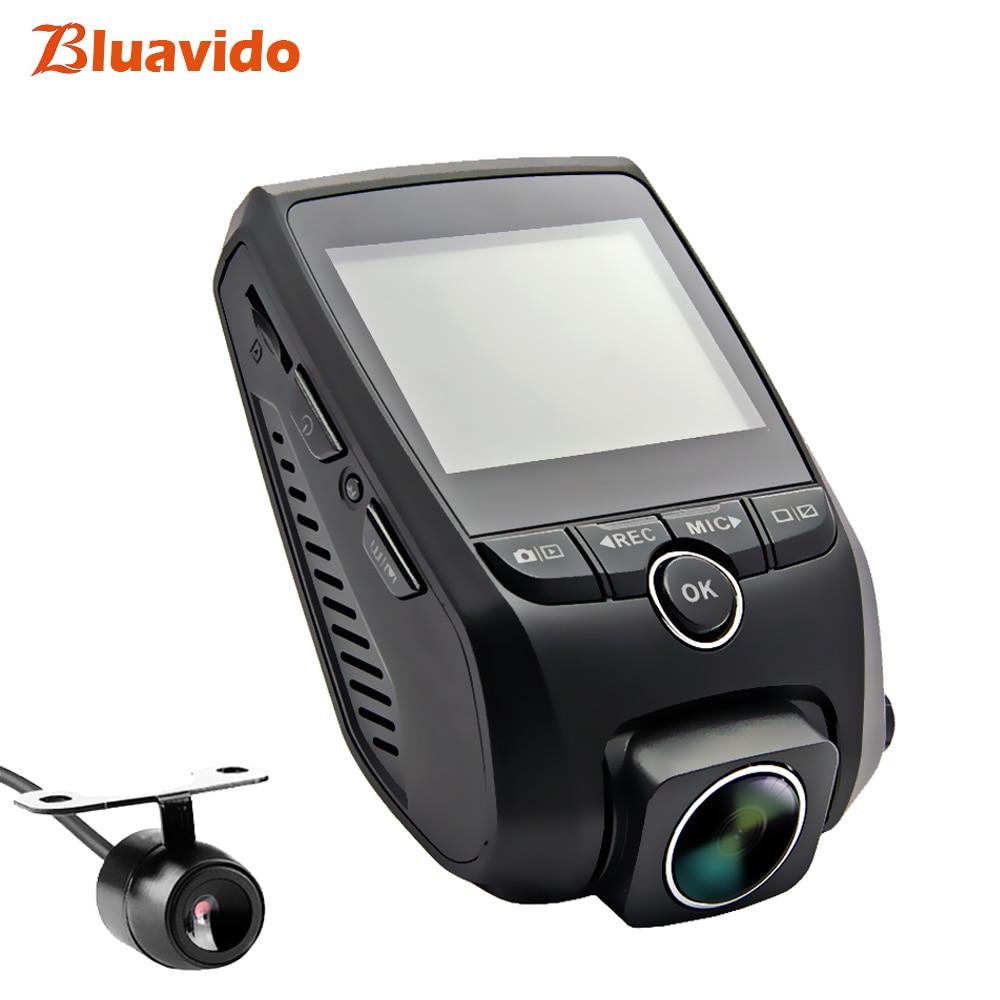 Bluavido Caché Type Dashcam Full HD 1080 p WDR Nuit Vision 170 Degrés Angle WiFi Voiture DVR Caméra vidéo enregistreur détection de mouvement