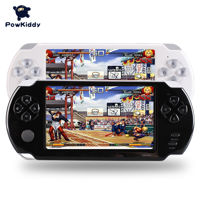 S9000A Portable 5.0 inch HD Handheld Game Player MP5 MP4 Multimedia Gaming Console 5 Inch For PSP 8G Video Games Consoles Toy ...