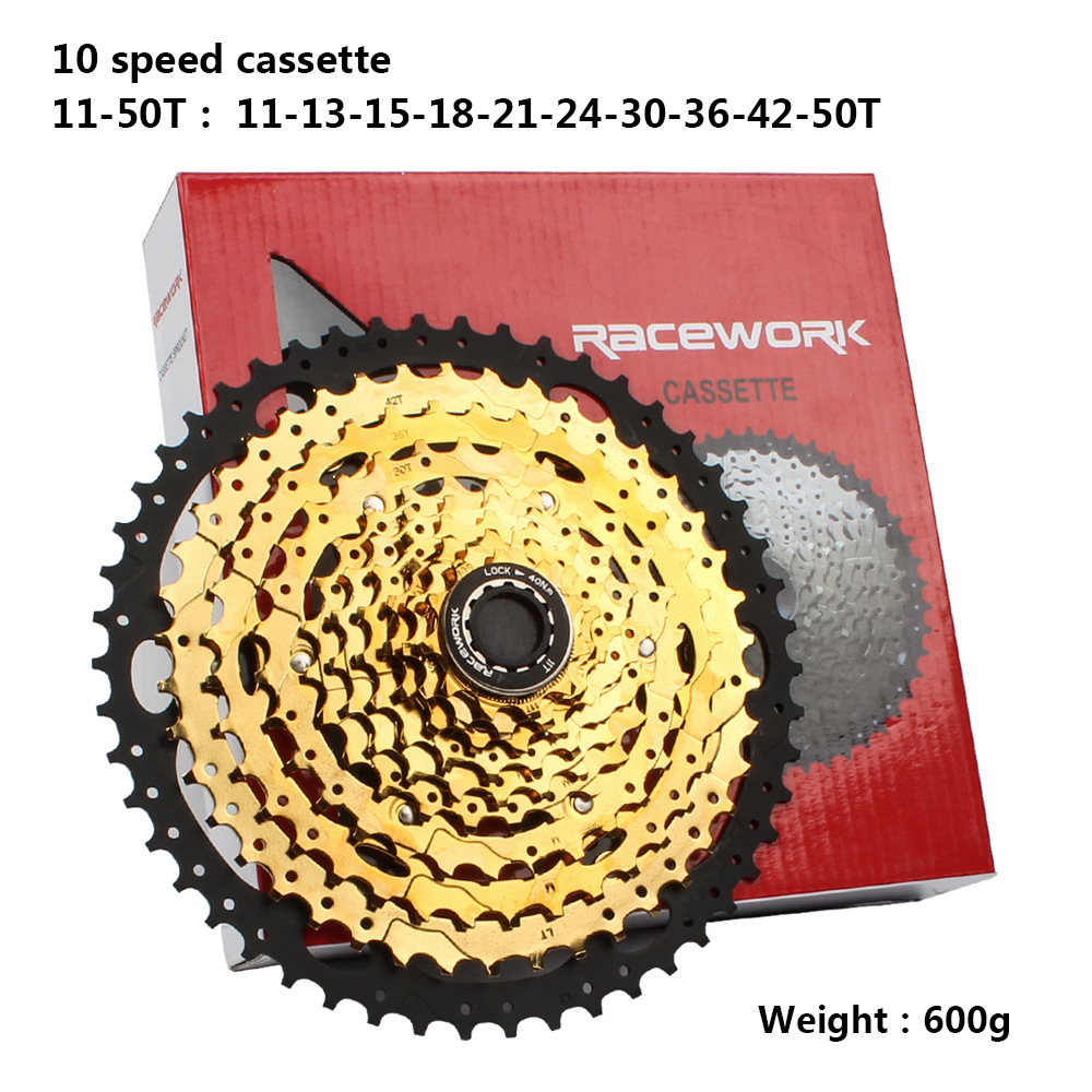 Image 4 - Mountain Bike Freewheel 10Speed/42/46/50T 11S/46/50/52T  MTB Cassette Flywheel Sprocket Compatible with Sunrace-in Bicycle Freewheel from Sports & Entertainment