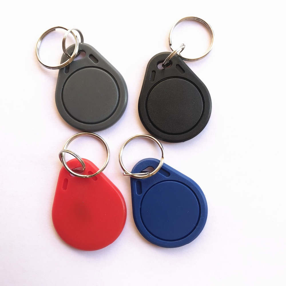 13.56MHZ ISO RFID MIFARE Classic 4K Key Fob For Access Control (pack Of 10)