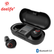 Bluetooth Earphone 5.0 True Wireless Headphones Blutooth Headset Stereo Sport Earbuds With Mic Charging Box Handsfree Headphone bluetooth headphone wireless earphone sport handsfree earbuds 3d stereo gaming headset with mic charging box