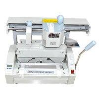 Hot sale ! Desktop Manual Hot Glue Book Binding Binder Machine 110V/220V DC 30+ Hot Melting Glue Pellets