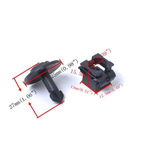 Image 5 - 10 para ochrona na pas samochodowy śruba i nakrętka sprężynowa silnik samochodowy zacisk mocujący obudowa do VW Passat B5 Audi A4/A6 Skoda itp. samochodu akcesoria 2019