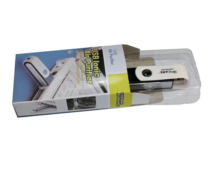 Mini purificador de aire USB para limpieza de ionizador de ordenador, generador de aniones ouput 1 millón de piezas de potencia de 0,3 W, USB del coche purificador de