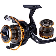 Sougayilang Hot Sale 13+1BB Fishing Reel YB2000/3000/4000/5000 and 5.5:1Gear Ratio Metal Material Spinning Reel Carp De Pesca