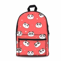 Noisydesigns Women 3D Panda Printed Pattern Men School Bag Casual Backpack Travel Bag For Teenage Boys Girls Student Gift Bags