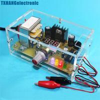 LM317 1 25V 12V Adjustable Regulated Voltage Power Supply DIY Kit US Plug