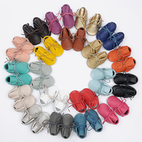 NEW Genuine Leather Soft Baby Shoes First Walkers Toddler Baby Moccasins Anti Slip Infant Fringe Shoes
