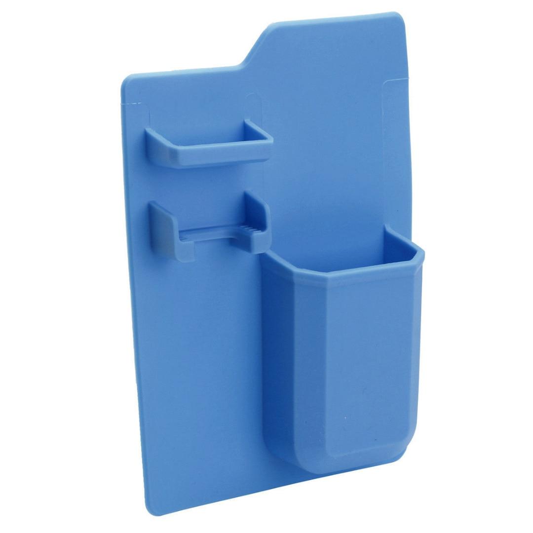 1pcs Silicone Bathroom Organizer Toiletries Toothbrush Razor Holder ...