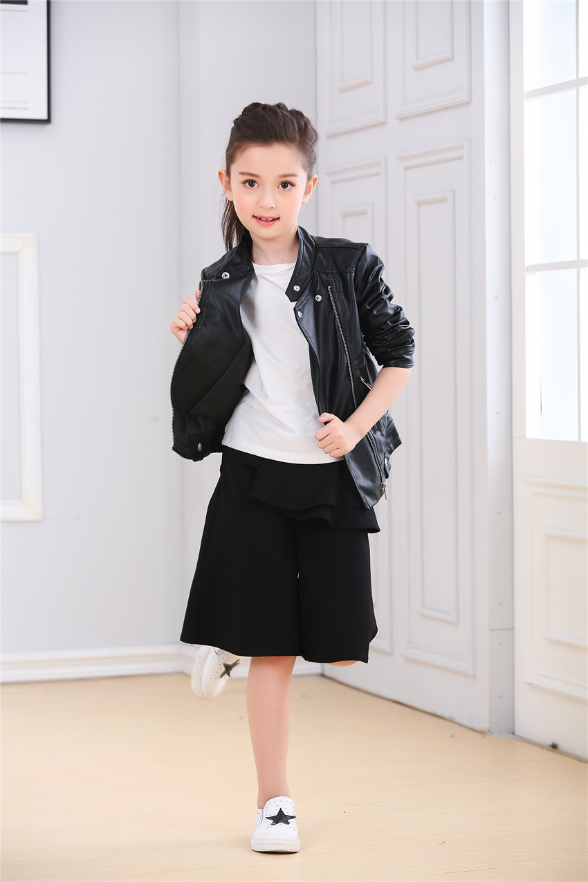 Leather jackets for teenage girls