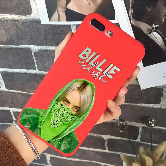 BILLIE EILISH IPHONE CASE (20 VARIAN)