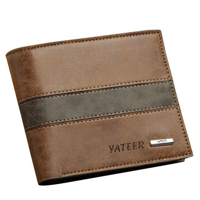 3da45182e11e 2017 Mens wallets Fashion Leather ID Card Holder Billfold Purse Men Wallets  bags for men Coin