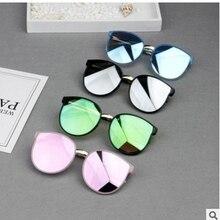 Детские солнцезащитные очки новые модные квадратные очки детские для мальчиков и девочек очки с квадратной оправой детские очки для путешествия 6 цветов на выбор UV400
