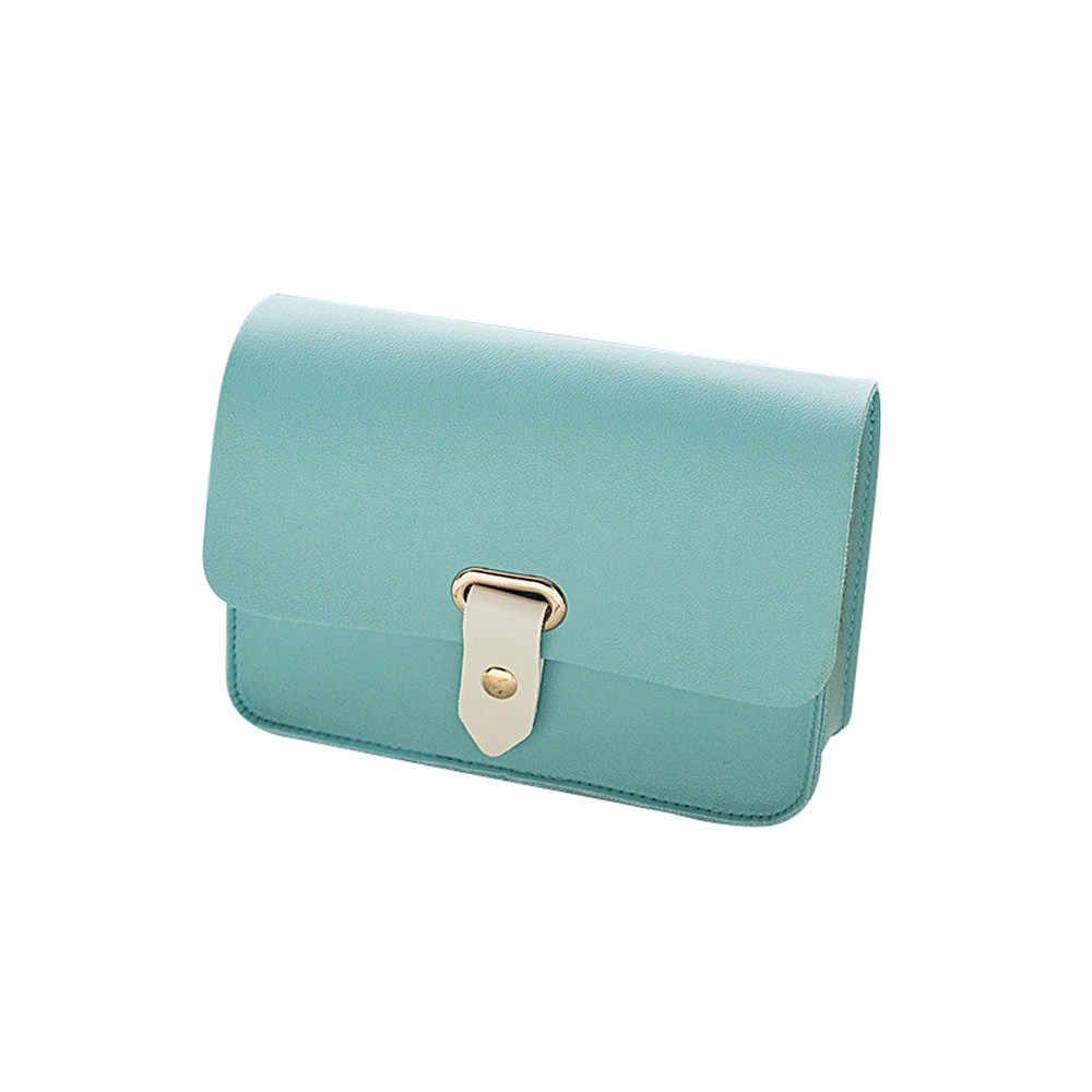 OCARDIAN Wallet  Women Lady Fashion Solid Marvel Small Cut Cover Crossbody Bag Shoulder Bag Phone Bag Coin Bag Dropship Mar4