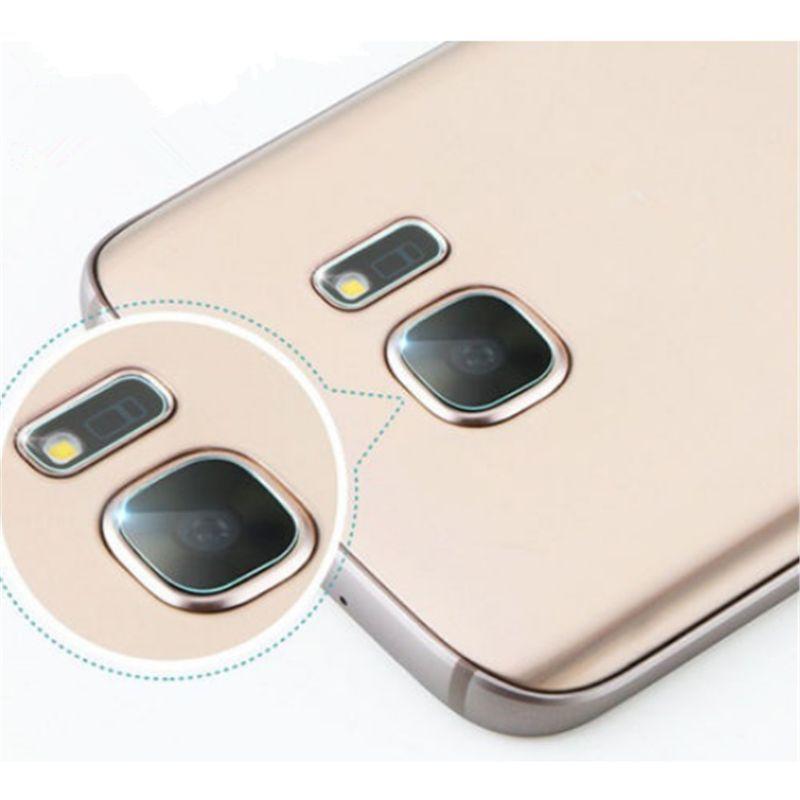 For Samsung S6 S6 Edge S7 S7 Edge S8 S8 Edge Tempered Glass Lens Film Camera Protective Film Anti-wear Lens Film