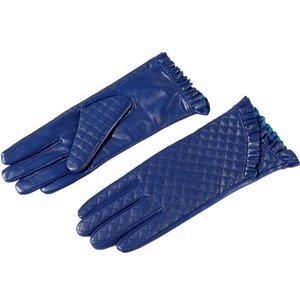 Image 2 - Guantes mujer, cuero genuino, forro de algodón, guantes de cuero azul, guantes de cuero para mujer, guantes de mujer