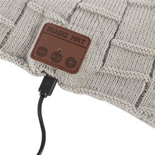 Wireless Bluetooth Knitted Beanie