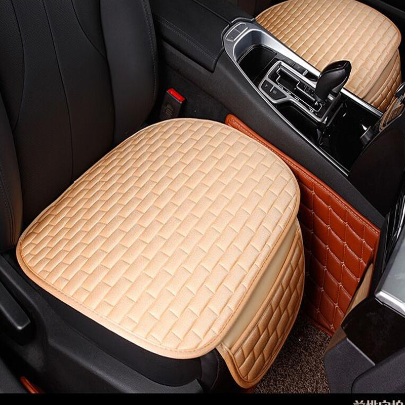 super luxury car seat protector mat auto front seat cushion single fit most vehicles seat. Black Bedroom Furniture Sets. Home Design Ideas