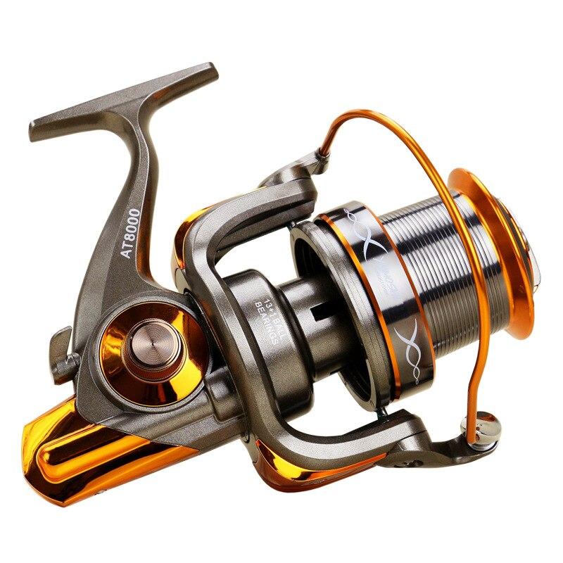 YUYU Metal Fishing reel Spinning 5 2 1 13 1 BB Front and Rear Drag reel