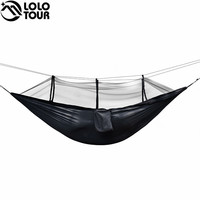 Ultralight Bug Net Hammock Tent Mosquito Outdoor Backyard Hiking Backpacking Travel Camping Double Hamac Rede Hamaca