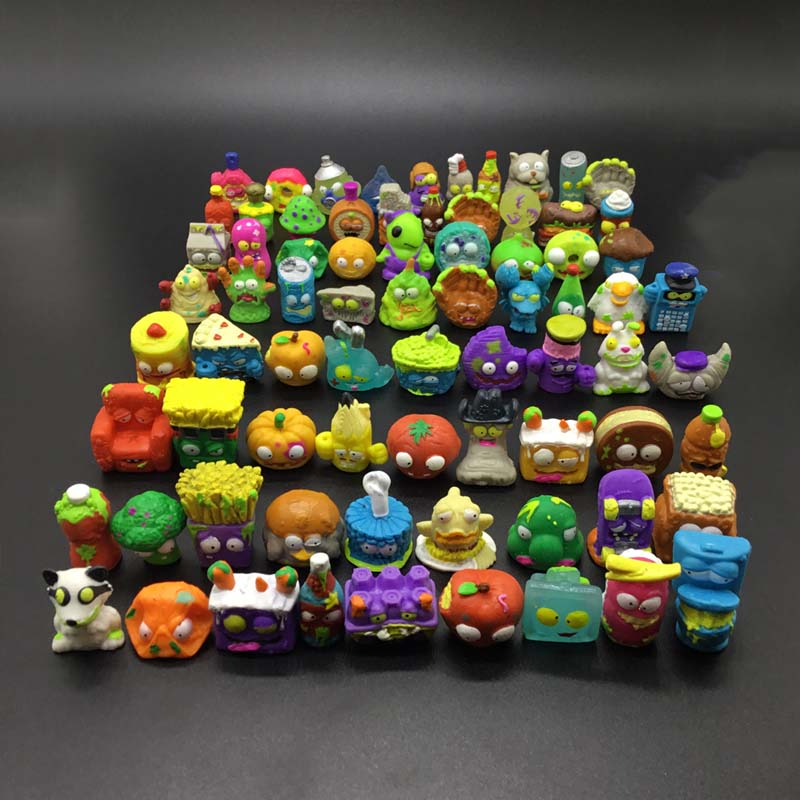 20Pcs//lot Popular Cartoon Anime Action Figures Toys HOT Garbage Moose The Grosse