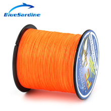 BlueSardine 300M Super Strong Braided Fishing Line Multifilament PE 4 Braid Wires Fishing Tackle 12LB – 90LB