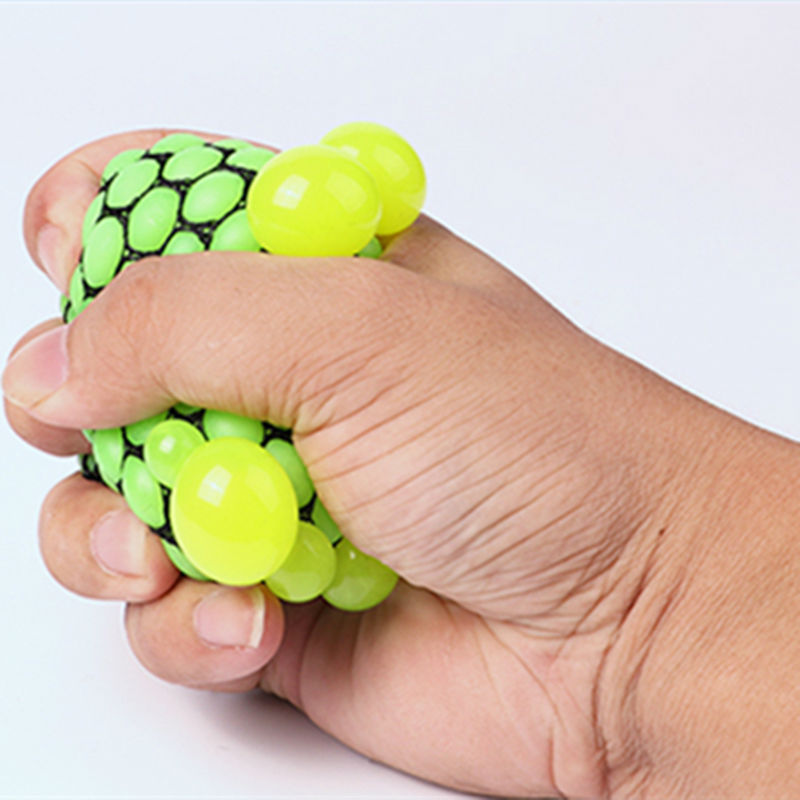 Vent Grape Ball Funny Toys Anti-Stress Reliever Autism Squeeze Decompression Prank Gift Toy Gadget Gags Practical Jokes