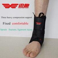תמיכה בקרסול ספורט בטיחות הגעה חדשה תחבושת קרסול הגנת Pad אלסטיים Brace משמר תמיכת כושר xp664 הגנת גלישת רגל