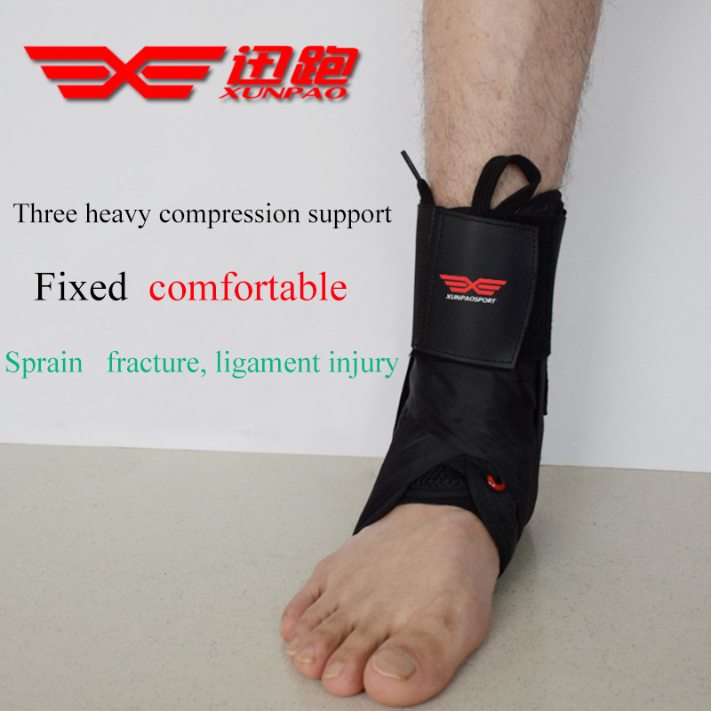 New Arrival Sports Safety Ankle Support Pad Protection Ankle Bandage Elastic Brace Guard Support Gym Foot Wrap Protection xp664 kaiwei 0639 elastic crus support brace wrap black
