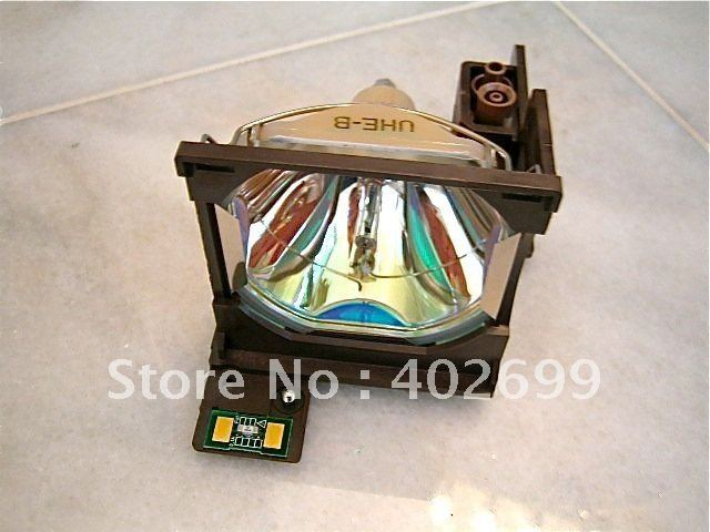 Projector lamp ELPLP04 with housing for Epson EMP-5100/EMP-7100 elplp38 v13h010l38 high quality projector lamp with housing for epson emp 1700 emp 1705 emp 1707 emp 1710 emp 1715 emp 1717